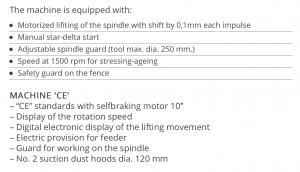 Tekniske detaljer 2 T210