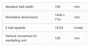 Tekniske detaljer U150 Pudser