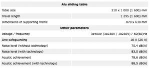 Tekniske detaljer FSN300 EURO 9